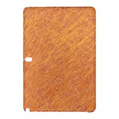 Orange pattern Samsung Galaxy Tab Pro 10.1 Hardshell Case