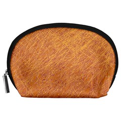 Orange pattern Accessory Pouches (Large)
