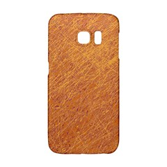 Orange pattern Galaxy S6 Edge