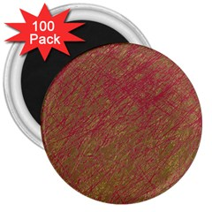 Brown pattern 3  Magnets (100 pack)