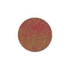 Brown pattern Golf Ball Marker