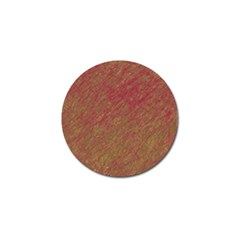 Brown pattern Golf Ball Marker (10 pack)