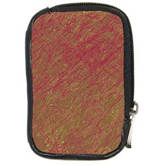 Brown pattern Compact Camera Cases