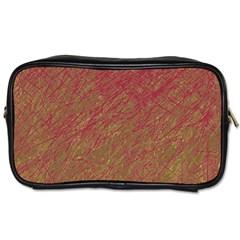 Brown pattern Toiletries Bags 2-Side