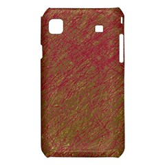 Brown pattern Samsung Galaxy S i9008 Hardshell Case