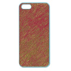 Brown pattern Apple Seamless iPhone 5 Case (Color)