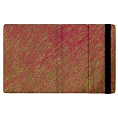 Brown pattern Apple iPad 2 Flip Case