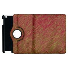 Brown pattern Apple iPad 3/4 Flip 360 Case