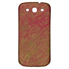 Brown pattern Samsung Galaxy S3 S III Classic Hardshell Back Case