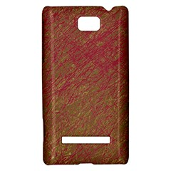 Brown pattern HTC 8S Hardshell Case