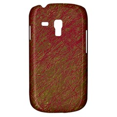 Brown pattern Samsung Galaxy S3 MINI I8190 Hardshell Case