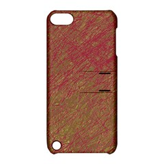 Brown pattern Apple iPod Touch 5 Hardshell Case with Stand