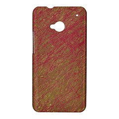 Brown pattern HTC One M7 Hardshell Case