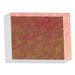 Brown pattern 5 x 7  Acrylic Photo Blocks