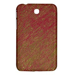 Brown pattern Samsung Galaxy Tab 3 (7 ) P3200 Hardshell Case
