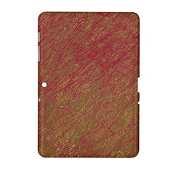 Brown pattern Samsung Galaxy Tab 2 (10.1 ) P5100 Hardshell Case