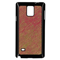 Brown pattern Samsung Galaxy Note 4 Case (Black)