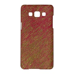 Brown pattern Samsung Galaxy A5 Hardshell Case