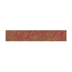 Brown pattern Flano Scarf (Mini)