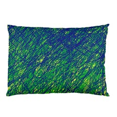 Green pattern Pillow Case