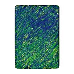 Green pattern Kindle 4