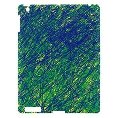 Green pattern Apple iPad 3/4 Hardshell Case