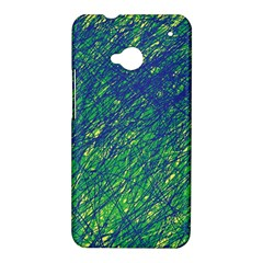 Green pattern HTC One M7 Hardshell Case
