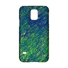 Green pattern Samsung Galaxy S5 Hardshell Case