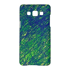 Green pattern Samsung Galaxy A5 Hardshell Case