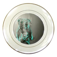 Dog Porcelain Plates