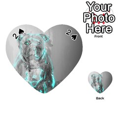 Dog Playing Cards 54 (Heart)