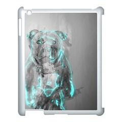 Dog Apple iPad 3/4 Case (White)
