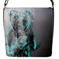 Dog Flap Messenger Bag (S)