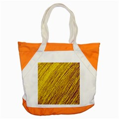 Yellow Van Gogh pattern Accent Tote Bag