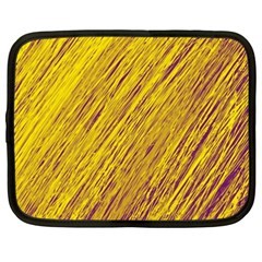 Yellow Van Gogh pattern Netbook Case (XXL)