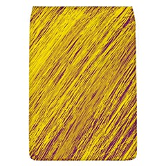 Yellow Van Gogh pattern Flap Covers (L)