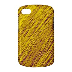 Yellow Van Gogh pattern BlackBerry Q10