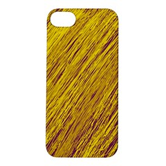 Yellow Van Gogh pattern Apple iPhone 5S/ SE Hardshell Case