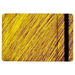 Yellow Van Gogh pattern iPad Air 2 Flip