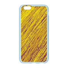 Yellow Van Gogh pattern Apple Seamless iPhone 6/6S Case (Color)