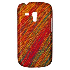 Orange Van Gogh pattern Samsung Galaxy S3 MINI I8190 Hardshell Case