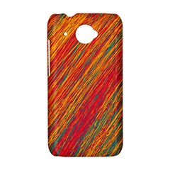 Orange Van Gogh pattern HTC Desire 601 Hardshell Case