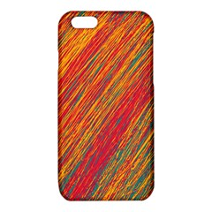 Orange Van Gogh pattern iPhone 6/6S TPU Case