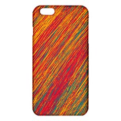 Orange Van Gogh pattern iPhone 6 Plus/6S Plus TPU Case