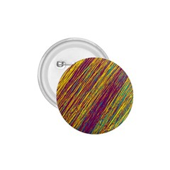 Yellow, purple and green Van Gogh pattern 1.75  Buttons