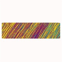 Yellow, purple and green Van Gogh pattern Large Bar Mats