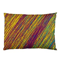 Yellow, purple and green Van Gogh pattern Pillow Case (Two Sides)