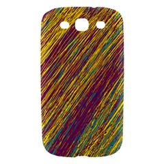 Yellow, purple and green Van Gogh pattern Samsung Galaxy S III Hardshell Case