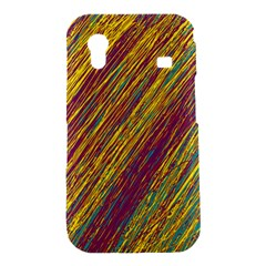 Yellow, purple and green Van Gogh pattern Samsung Galaxy Ace S5830 Hardshell Case