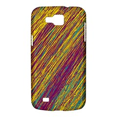 Yellow, purple and green Van Gogh pattern Samsung Galaxy Premier I9260 Hardshell Case